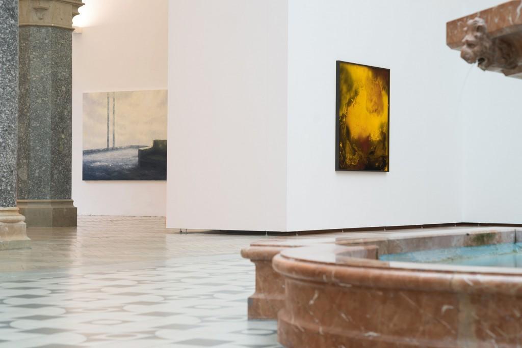 Bettina Scholz: Bettina Scholz and Sid Gastl, Die Idee des Pools ist die Weite, Rathausgalerie-Kunsthalle, München/Munich, 2016