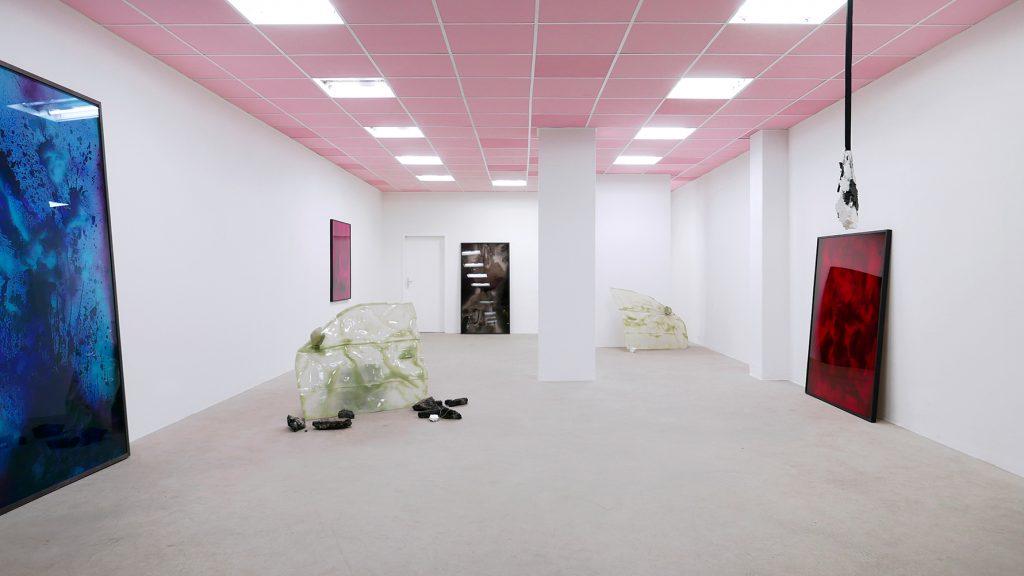 Bettina Scholz: Bettina Scholz and Konrad Hanke – SHINING, Galerie Stephanie Kelly, Dresden, 2020