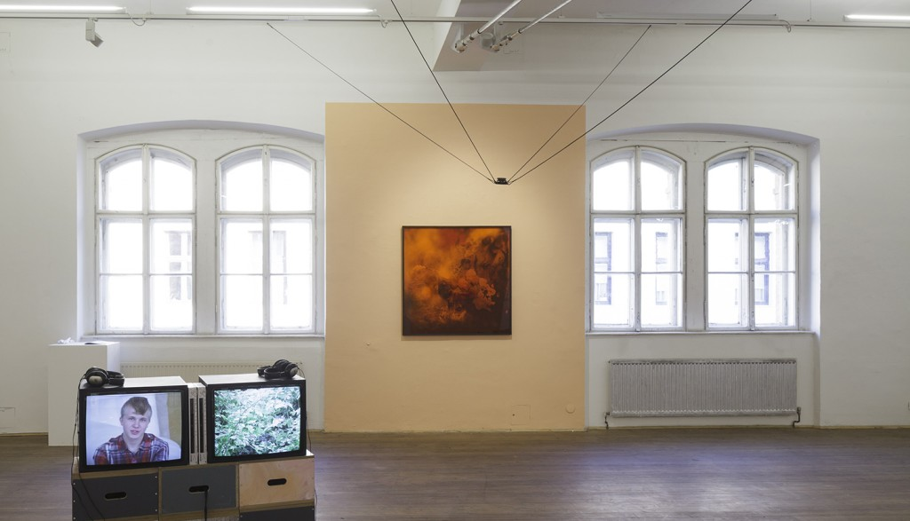 Bettina Scholz: Bettina Scholz (Painting) &Caroline Ruijgrok (Audio, Text) at Kunsthalle Exnergasse Vienna (Film by Magda Tothova)
